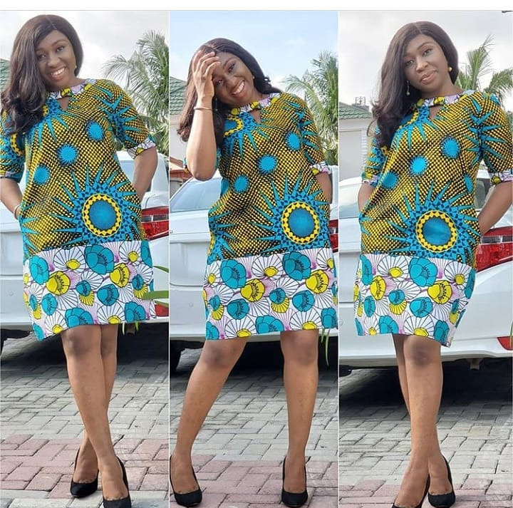 Ankara Styles Pictures 2020: Beautiful Dresses for ladies