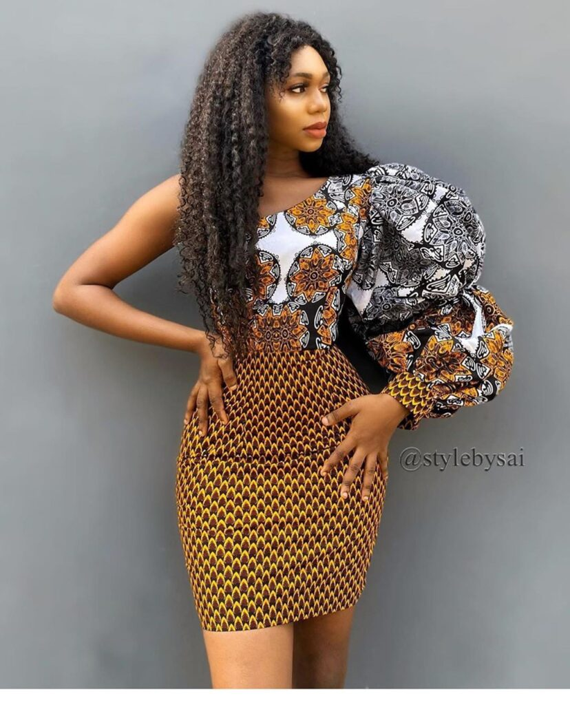 Latest Ankara Styles 2020 for slim ladies