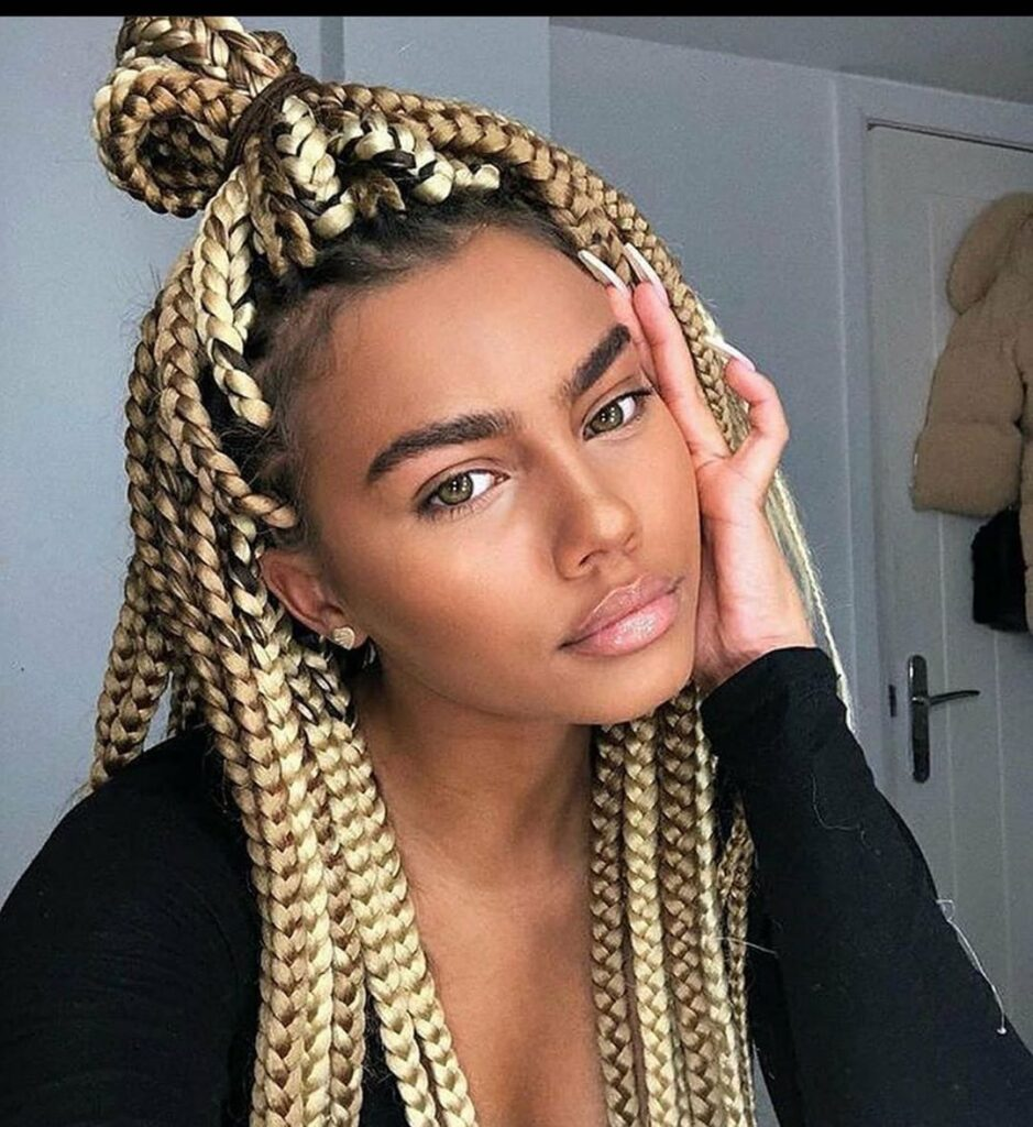 Braid hairstyles with weave 2020 For Ladies