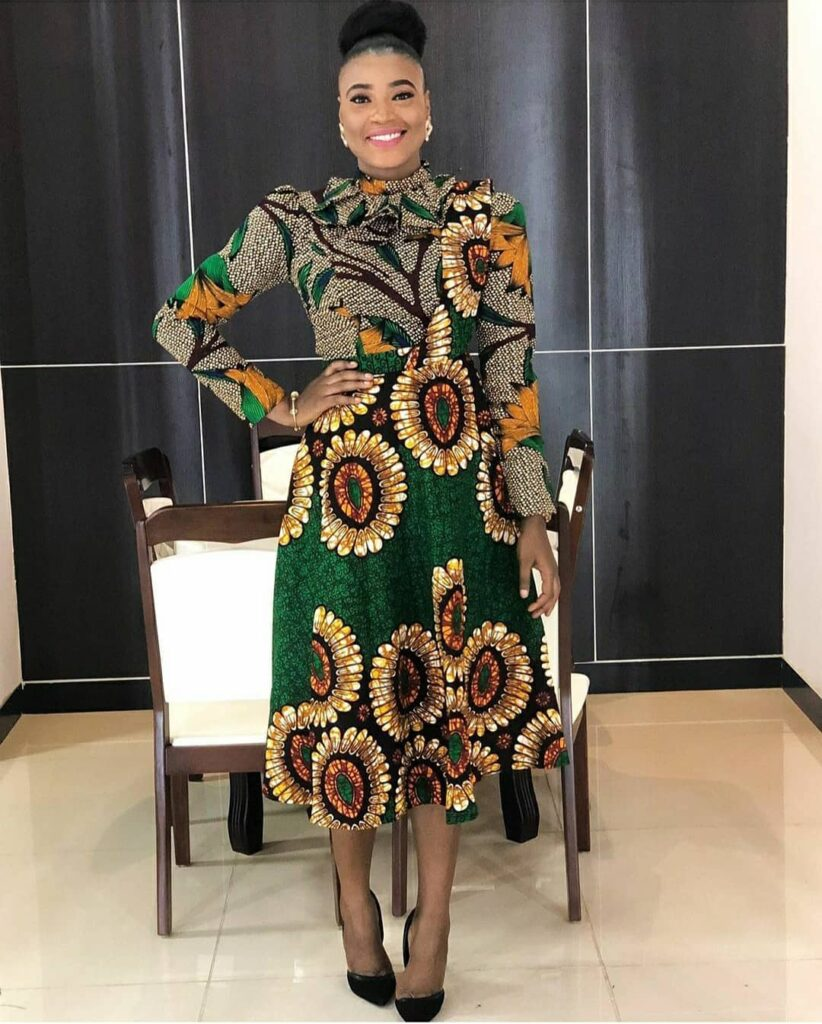 Latest Ankara Gown Styles 2020