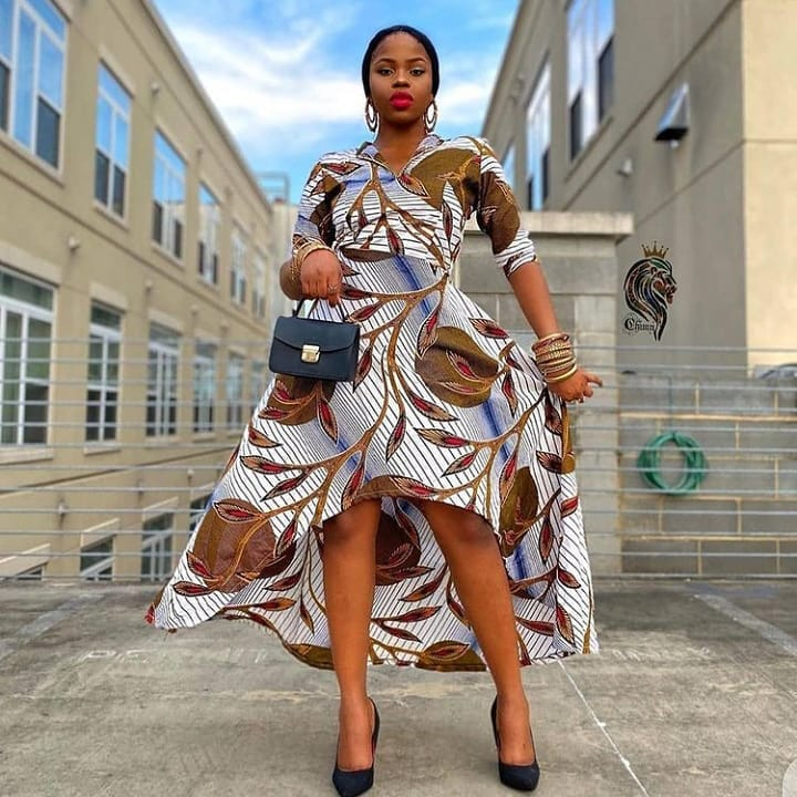2021 Latest Ankara Styles: Stunning Dresses for Ladies