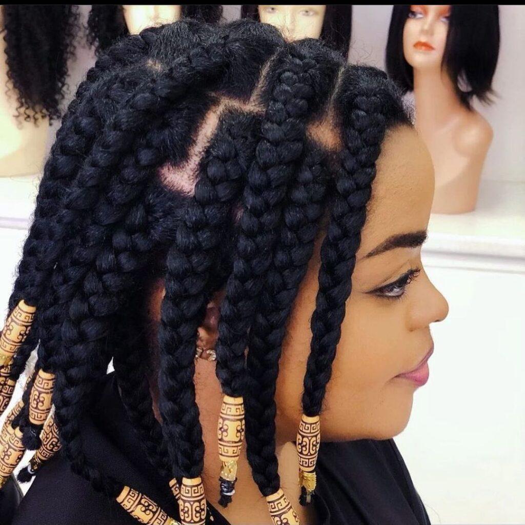 Natural Hair braiding styles 2021 for Ladies