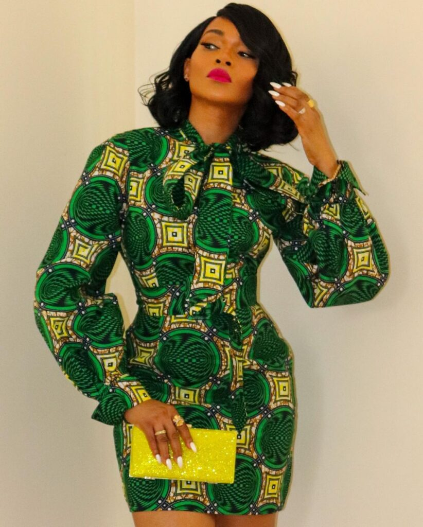 Latest Ankara Styles 2021 for slim ladies