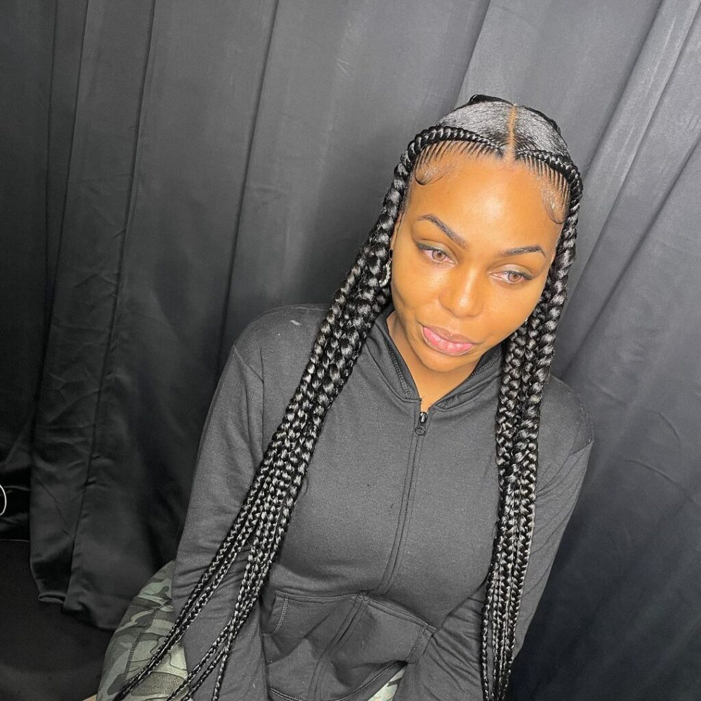 Big braids hairstyles 2021 For Ladies