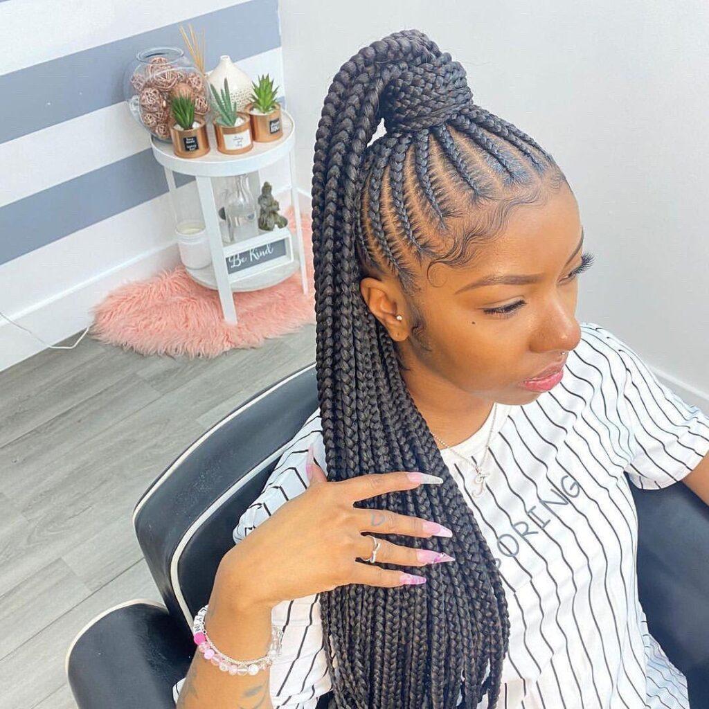 2021 hairstyles braids for Ladies